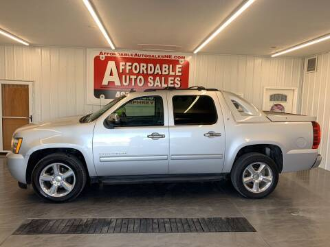 2012 Chevrolet Avalanche for sale at Affordable Auto Sales in Humphrey NE