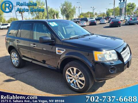 2008 Land Rover LR2 for sale at Reliable Auto Sales in Las Vegas NV