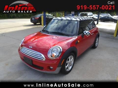 2009 MINI Cooper for sale at Inline Auto Sales in Fuquay Varina NC
