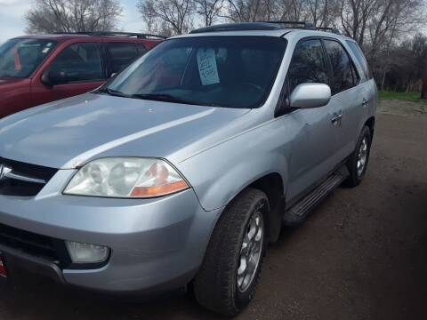 2001 Acura MDX for sale at BARNES AUTO SALES in Mandan ND