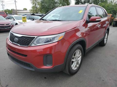2015 Kia Sorento for sale at MIDWEST CAR SEARCH in Fridley MN
