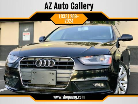 2013 Audi A4 for sale at AZ Auto Gallery in Mesa AZ