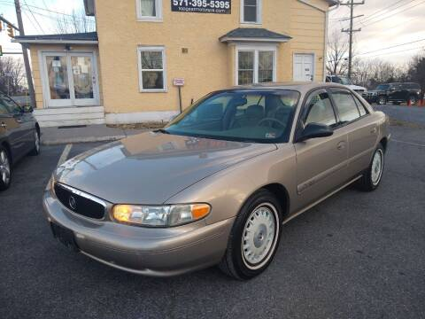 2002 Buick Century for sale at Top Gear Motors in Winchester VA