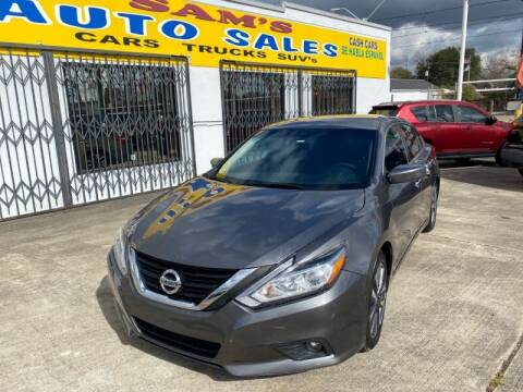 2017 Nissan Altima for sale at Sam's Auto Sales in Houston TX