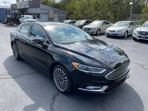 2017 Ford Fusion for sale at LexTown Motors in Lexington KY