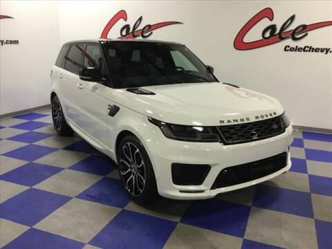 2018 Land Rover Range Rover Sport for sale at Cole Chevy Pre-Owned in Bluefield WV