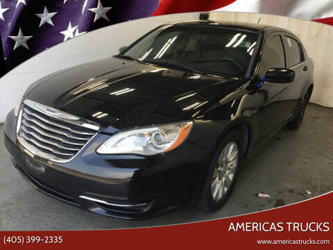 2014 Chrysler 200 for sale at Americas Trucks in Jones OK