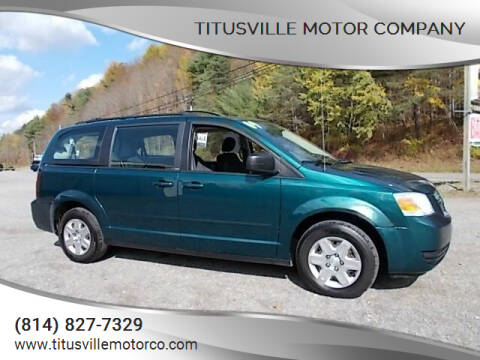 2009 Dodge Grand Caravan for sale at Titusville Motor Company in Titusville PA