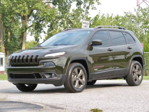 2016 Jeep Cherokee for sale at Tonys Pre Owned Auto Sales in Kokomo IN