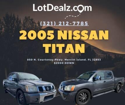 2005 Nissan Titan for sale at ROCKLEDGE in Rockledge FL