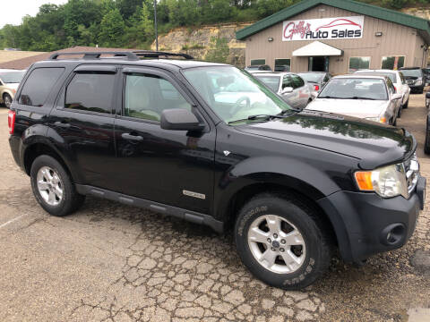 2008 Ford Escape for sale at Gilly's Auto Sales in Rochester MN