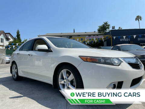 2011 Acura TSX for sale at FJ Auto Sales North Hollywood in North Hollywood CA