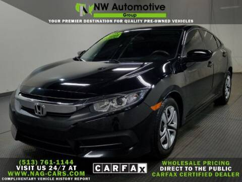 2018 Honda Civic for sale at NW Automotive Group in Cincinnati OH
