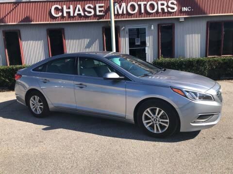 2017 Hyundai Sonata for sale at Chase Motors Inc in Stafford TX