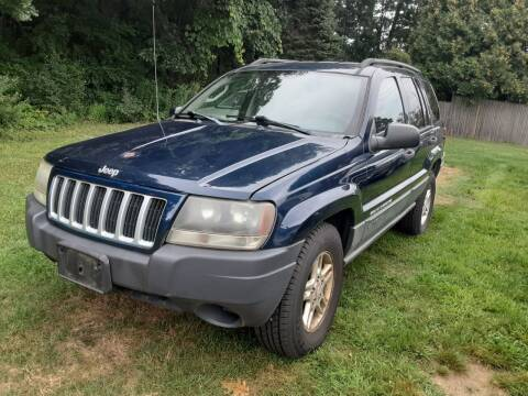2004 Jeep Grand Cherokee for sale at Cappy's Automotive in Whitinsville MA