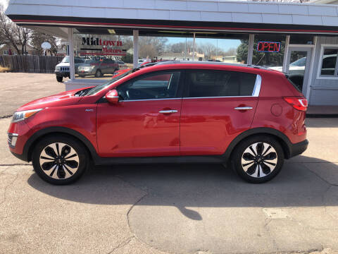2011 Kia Sportage for sale at Midtown Motors in North Platte NE
