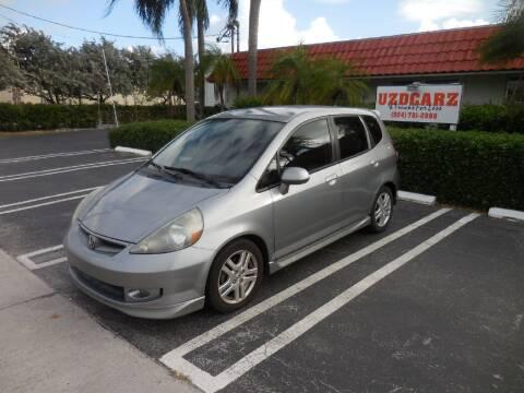 2007 Honda Fit for sale at Uzdcarz Inc. in Pompano Beach FL