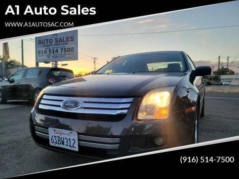 2006 Ford Fusion for sale at A1 Auto Sales in Sacramento CA