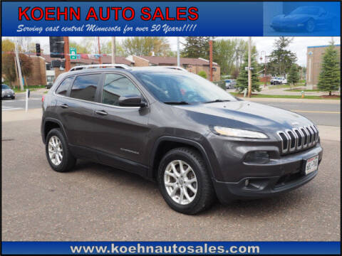2014 Jeep Cherokee for sale at Koehn Auto Sales in Lindstrom MN