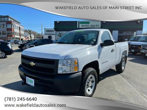 2010 Chevrolet Silverado 1500 for sale at Wakefield Auto Sales of Main Street Inc. in Wakefield MA