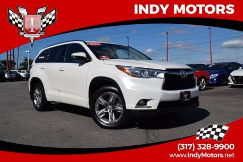 2014 Toyota Highlander for sale at Indy Motors Inc in Indianapolis IN