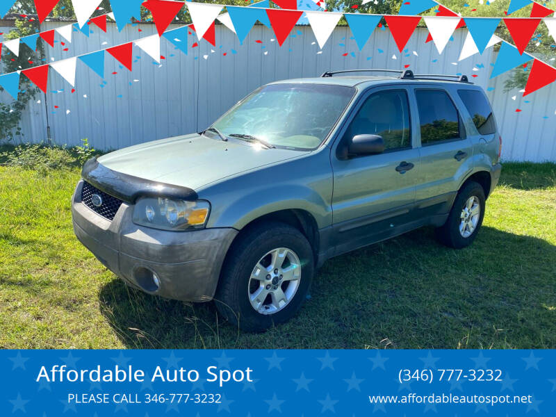 2007 Ford Escape for sale at Affordable Auto Spot in Houston TX