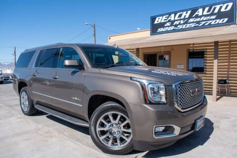 2016 GMC Yukon XL for sale at Beach Auto and RV Sales in Lake Havasu City AZ