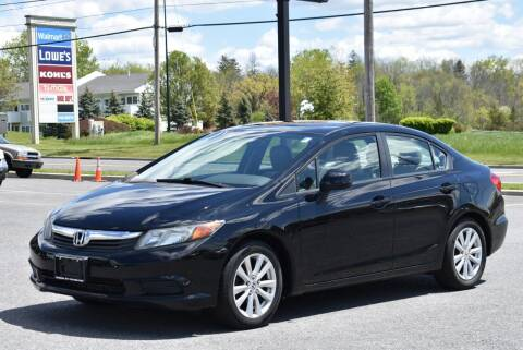 2012 Honda Civic for sale at Broadway Garage of Columbia County Inc. in Hudson NY