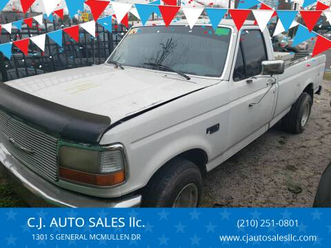 1992 Ford F-150 for sale at C.J. AUTO SALES llc. in San Antonio TX