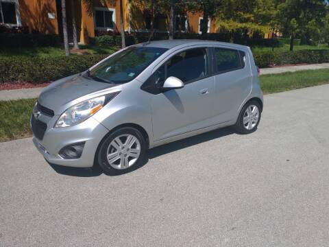 2014 Chevrolet Spark for sale at LAND & SEA BROKERS INC in Pompano Beach FL