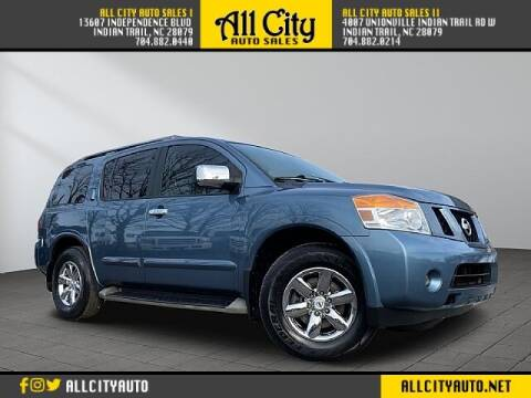 2012 Nissan Armada for sale at All City Auto Sales in Indian Trail NC