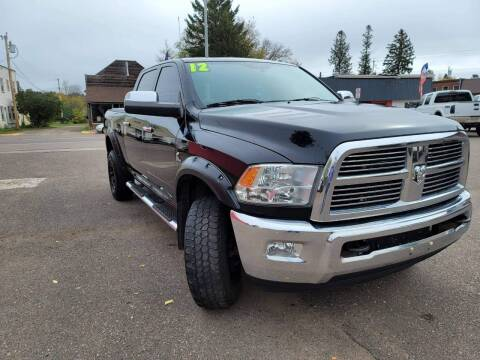 2012 RAM Ram Pickup 2500 for sale at WB Auto Sales LLC in Barnum MN