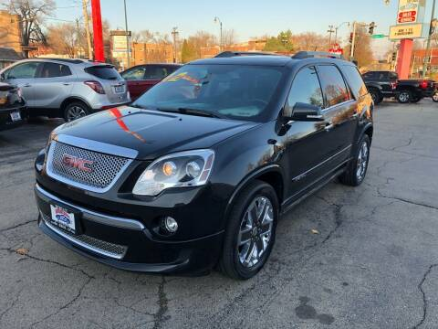 2012 GMC Acadia for sale at Bibian Brothers Auto Sales & Service in Joliet IL