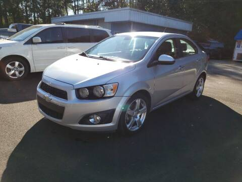 2013 Chevrolet Sonic for sale at Curtis Lewis Motor Co in Rockmart GA