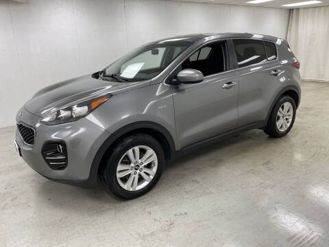 2017 Kia Sportage for sale at Kerns Ford Lincoln in Celina OH