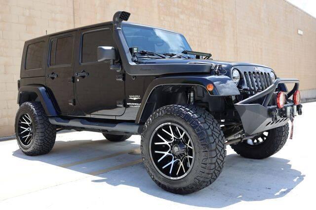 2008 Jeep Wrangler Unlimited for sale at Prado Auto Sales in Miami FL