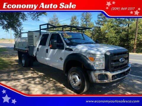 2012 Ford F-550 Super Duty for sale at Economy Auto Sale in Modesto CA