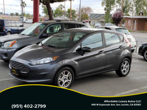 2016 Ford Fiesta for sale at Affordable Luxury Autos LLC in San Jacinto CA