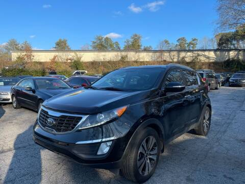 2012 Kia Sportage for sale at Car Online in Roswell GA