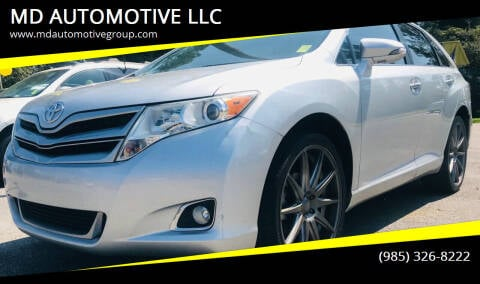 2013 Toyota Venza for sale at MD AUTOMOTIVE LLC in Slidell LA