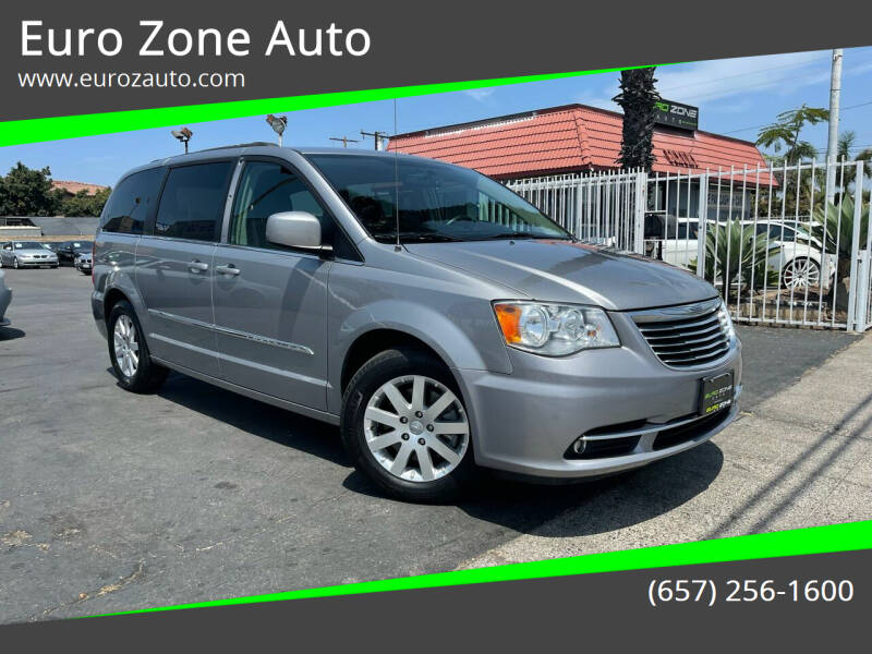 2016 Chrysler Town and Country for sale at Euro Zone Auto in Stanton CA