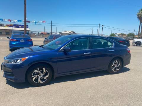 2017 Honda Accord for sale at First Choice Auto Sales in Bakersfield CA