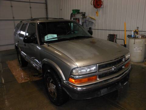 2000 Chevrolet Blazer for sale at Grey Goose Motors in Pierre SD