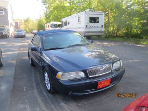 2000 Volvo C70 for sale at D & F Classics in Eliot ME