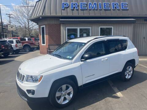 2011 Jeep Compass for sale at Premiere Auto Sales in Washington PA
