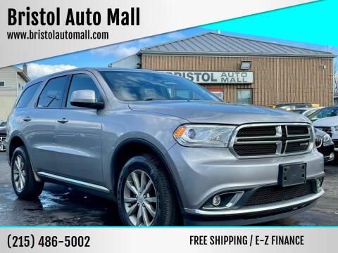 2017 Dodge Durango for sale at Bristol Auto Mall in Levittown PA