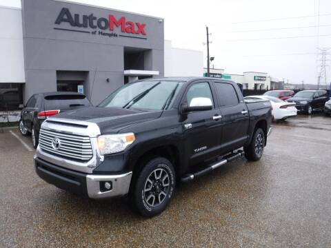2015 Toyota Tundra for sale at AutoMax of Memphis - Logan Karr in Memphis TN