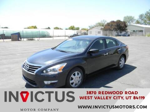 2013 Nissan Altima for sale at INVICTUS MOTOR COMPANY in West Valley City UT