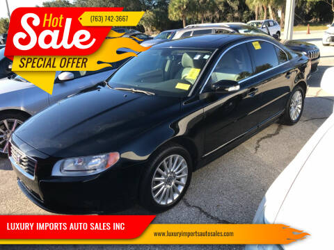 2008 Volvo S80 for sale at LUXURY IMPORTS AUTO SALES INC in North Branch MN