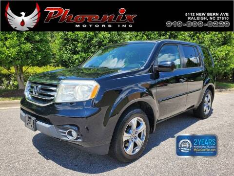 2013 Honda Pilot for sale at Phoenix Motors Inc in Raleigh NC